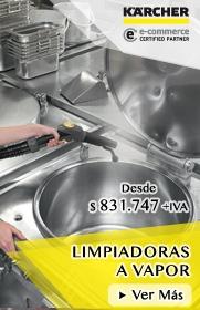 Limpiadoras a Vapor Profesionales Karcher - PROKAR