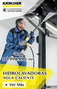 Hidrolavadoras Agua Caliente Profesionales Karcher - PROKAR