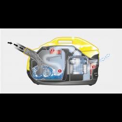 Aspiradora con filtro de agua DS 6